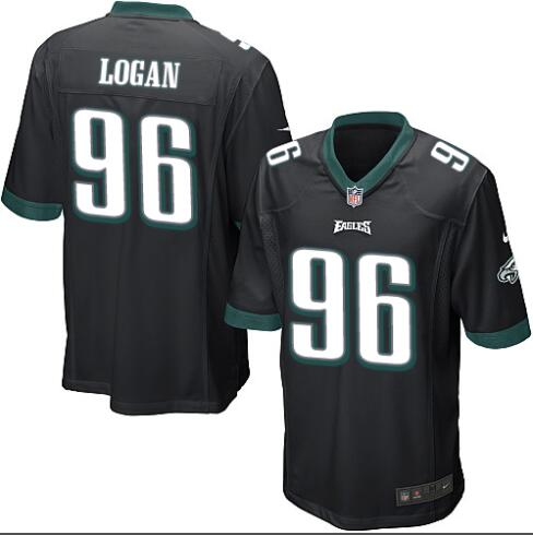 Camiseta del NFL LOGAN Negra, Philadelphia Eagles
