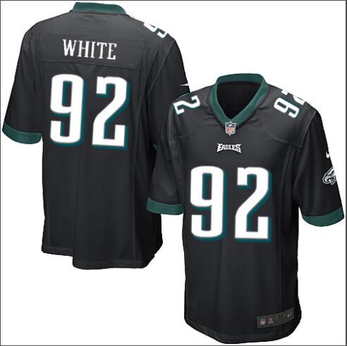 Camiseta del NFL WHITE Negra, Philadelphia Eagles