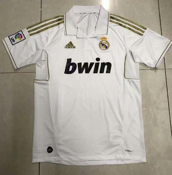 Camiseta del Real Madrid Retros Blanca 2012