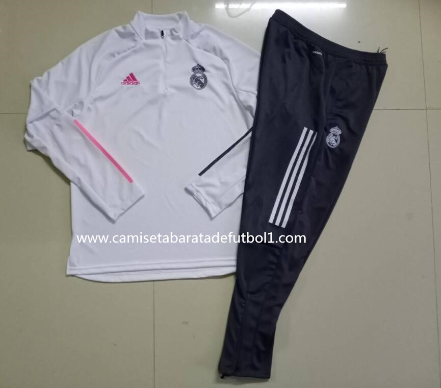 Chandal del Real Madrid Blanco 2021