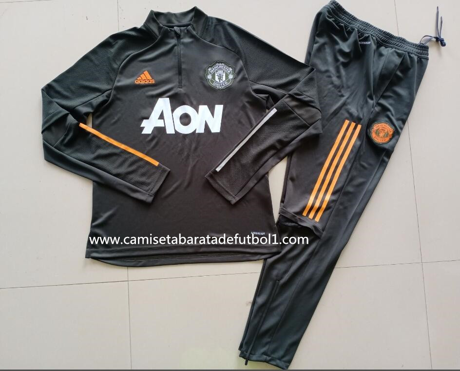 Chandal del Manchester United Negro 2021