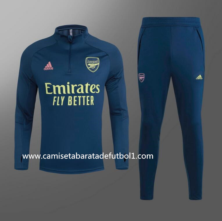 Chandal del Arsenal Azul Oscuro 2021