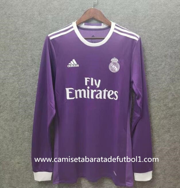 Camiseta 2ª equipación del Real Madrid ML 2016/2017