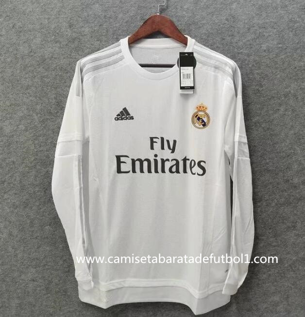 Camiseta 1ª equipación del Real Madrid ML 2015/2016