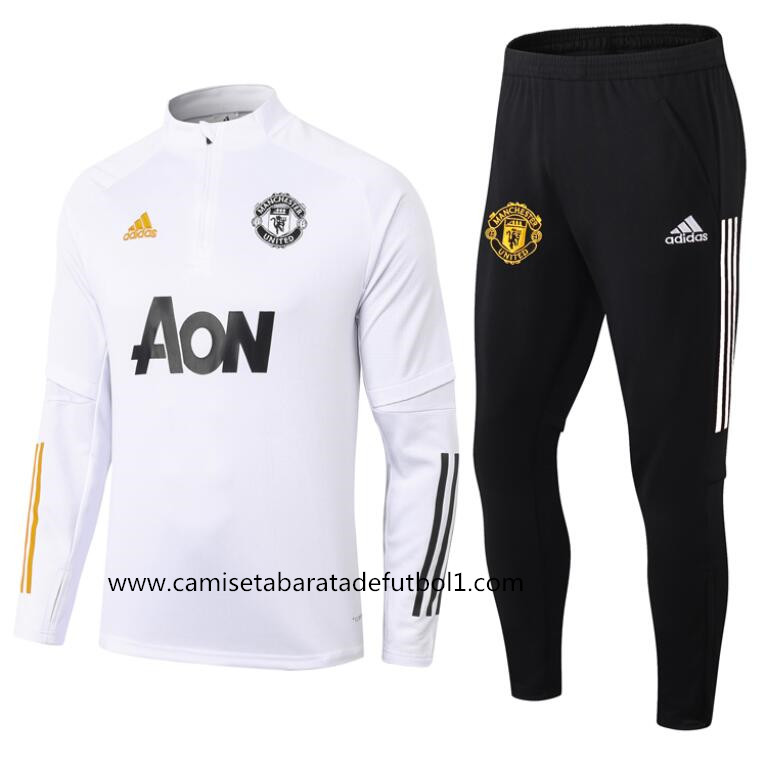 Chandal del Manchester United Blanco 2021