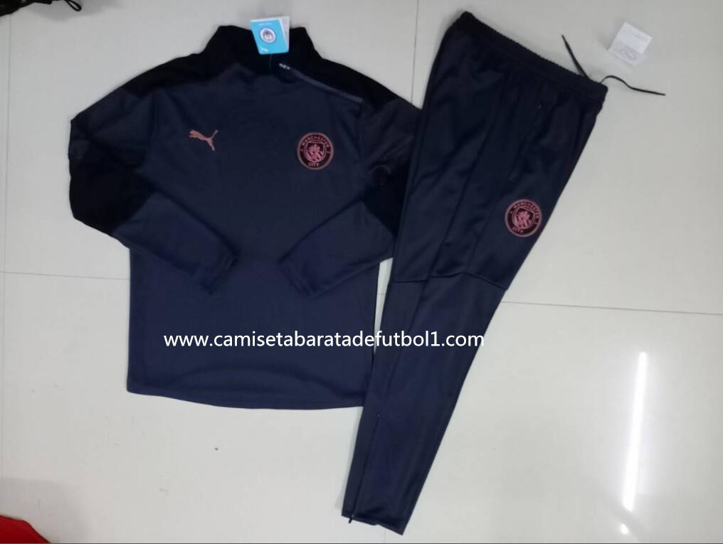 Chandal del Manchester City Gris Oscuro 2021