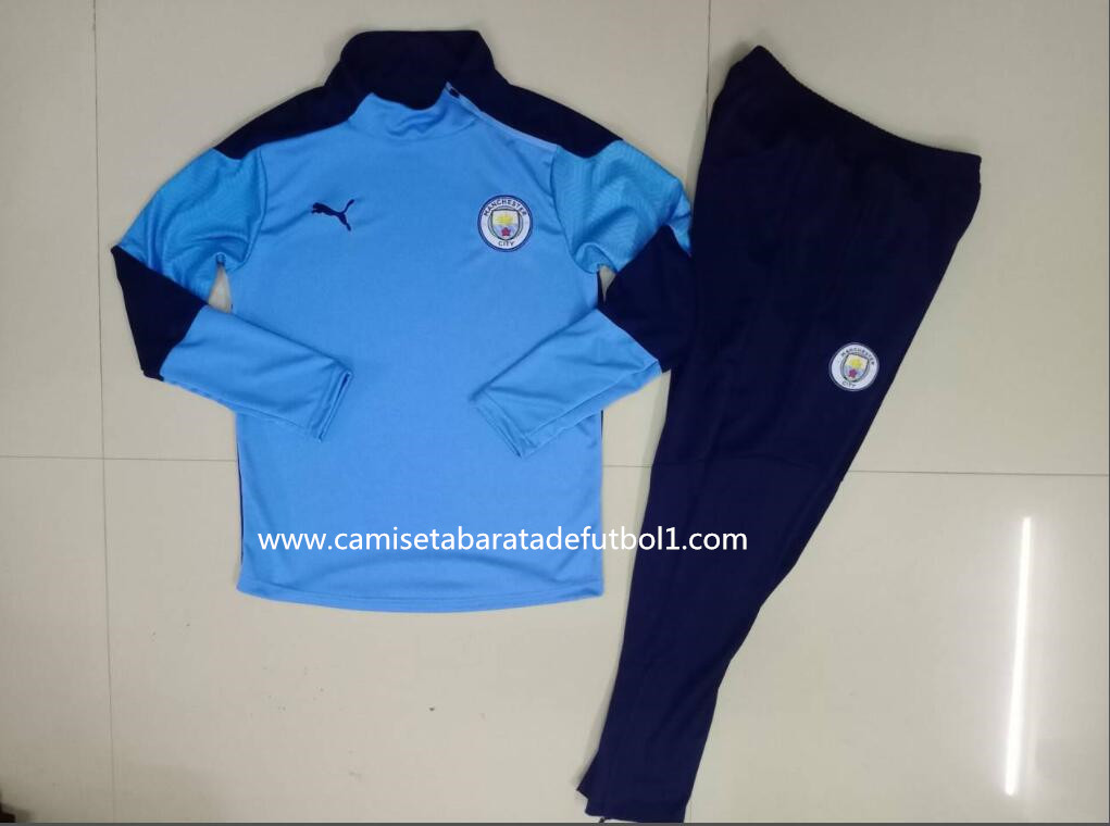 Chandal del Manchester City Azul2 2021