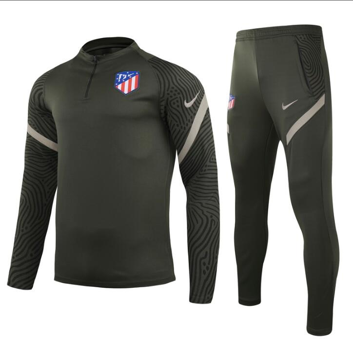 Chandal del Atletico del Madrid Verde 2021