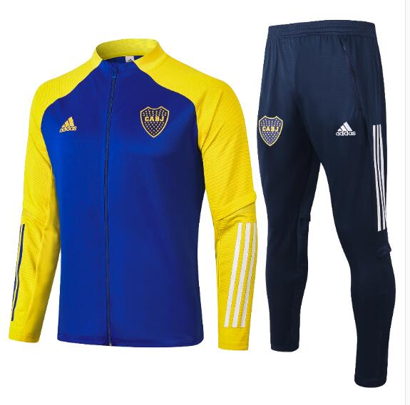 Chandal del Boca Junior Blanca Azul 2021